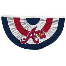 MLB Team Bunting Pleated Flag