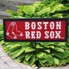 MLB Resin Garden Sign with Stake