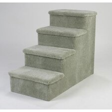 Heavy Duty Pet Stairs - Four Step