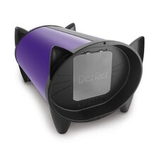 Outdoor Cat House in Divine Purple