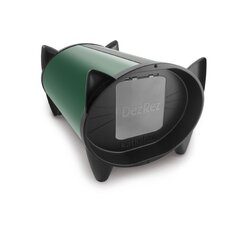 Outdoor Cat House in Forest Green