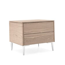 Boston 2 Drawer Nightstand