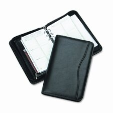 "Avalon Leatherlike Vinyl Zippered Organizer Starter Set, 3.75"" Wide"