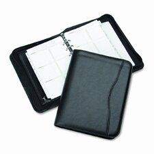 "Avalon Leatherlike Vinyl Zippered Organizer Starter Set, 5.5"" Wide"