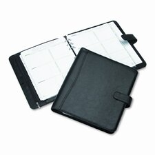 "Avalon Leatherlike Vinyl Snap-Close Organizer Starter Set, 8.5"" Wide"