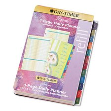 Flavia® Dated One-Page-per-Day Organizer Refill