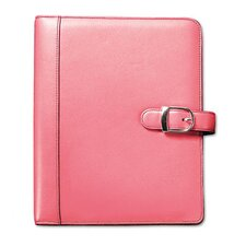 Pink Ribbon Organizer Starter Set with Leather Binder
