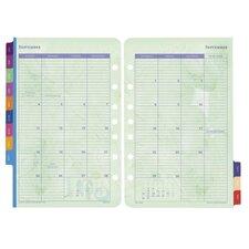 "Calendar Refills,Flavia,2PPM,Jan-Dec,8-1/2""x5-1/2"""