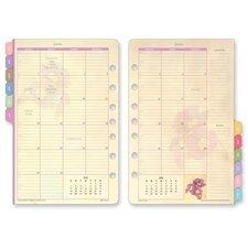 """Calendar Refills, Garden Path, 2 PPM, 5-1/2""""x8-1/2"""", 2013"""