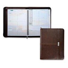 "Weekly Planner,Jan-Dec,2PPW,8-1/2""x11"" Pad,BN Cvr, 2013"