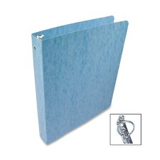 Recycled Presstex Round Ring Binder, 1in Capacity, Light Blue