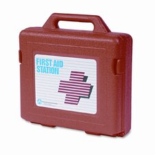 <strong>Acme United Corporation</strong> First Aid Kit for 50 People, 141 Pieces, OSHA/ANSI Compliant, Plastic Case