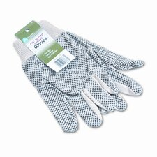 Memphis Dotted Canvas Gloves, 12/Pack