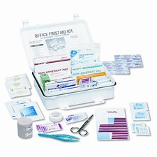 First Aid Kits for 15 People, 119 Pieces, Plastic Case