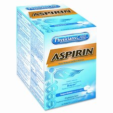 Physicianscare Aspirin Medication, 50 Doses