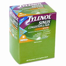 Physicianscare Sinus Decongestant Congestion Medication, 50 Doses