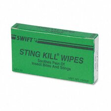 <strong>Acme United Corporation</strong> Physicianscare First Aid Sting Relief Pads, Box of 10