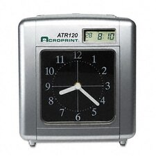 <strong>Acroprint Time Recorder</strong> Acroprint Model Atr120 Analog/Lcd Automatic Time Clock