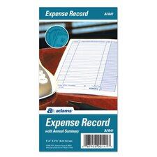 "3.25"" x 6.25"" Expense Record Book (Set of 24)"