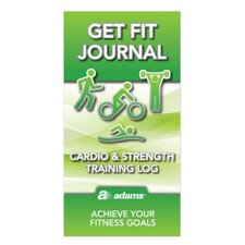 "6.25"" x 3.25"" Get Fit Journal (Set of 48)"