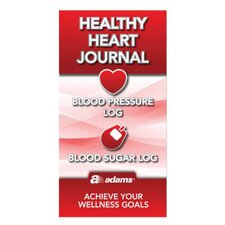 "6.25"" x 3.25"" Healthy Heart Journal Book (Set of 48)"