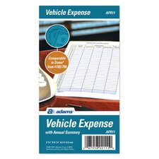 "3.25"" x 6.25"" Vehicle Expense Journal (Set of 36)"