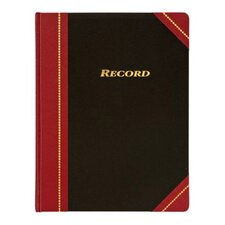 "8.5"" x 10.75"" Cover Record Ledger Book (Set of 6)"