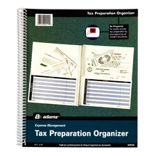 <strong>Adams Business Forms</strong> Tax Record Filing System (Set of 12)