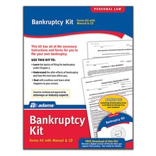 Bankruptcy Forms and Instruction (Set of 96)