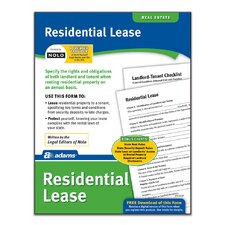 Residential Lease Forms and Instruction (Set of 288)