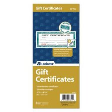 2 Part Carbonless Gift Certificate Book (Set of 300)