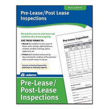 Pre Lease and Post Lease Inspections Forms and Instruction (Set of 288)