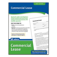 Commercial Lease Forms and Instruction (Set of 288)