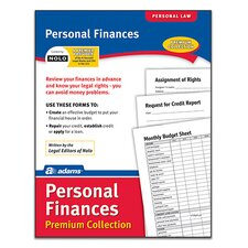 Personal Finance Pack Premium Collection Forms and Instruction (Set of 6)