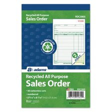 Carbonless All Purpose Book (Set of 25)