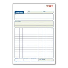2 Part Carbonless Statement Book (Set of 24)