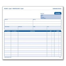 3 Part Carbonless Invoice Unit (Set of 400)