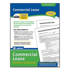 Commercial Lease Forms and Instructions Pack (Set of 288)