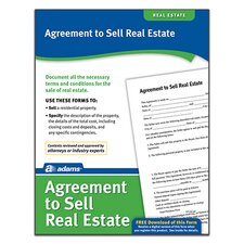 Agreement to Sell Real Estate Forms and Instructions (Set of 288)