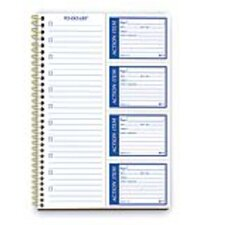 2 Part Carbonless Write and Stick Action Item Pad (Set of 12)