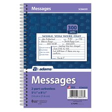 2 Part Carbonless Phone Message Book (Set of 30)