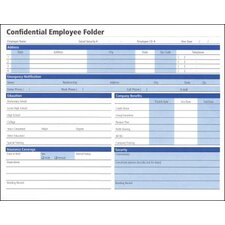 Confidential Employee Folder (Set of 300)
