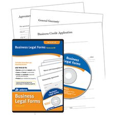 Business Legal Forms and Agreements Compact Disc (Set of 6)