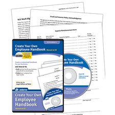 Create Your Own Employee Handbook Compact Disc (Set of 6)