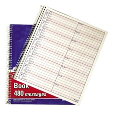 "Voice Mail Log Book, 480 Messages, 7""x8"""