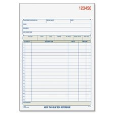 "5.57"" x 8.44"" 2 Part Carbonless Sales Order Book (Set of 10)"