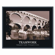 'Teamwork' Framed Photographic Print