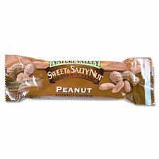 Granola Bars, Sweet & Salty Nut Peanut Cereal, 1.5oz Bar, 16/box