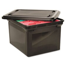<strong>Advantus Corp.</strong> File Tote Storage Box with Lid , Legal/Letter, Plastic