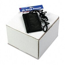 <strong>Advantus Corp.</strong> Id Badge Holder with Convention Neck Pouch, Vertical, 2 1/4W X 3 1/2, 12/Box
